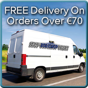 Free Delivery on Oredrs over €70